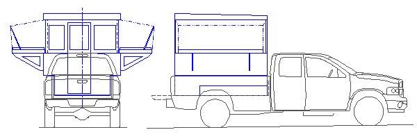 Truck campers for Campervan furniture plans