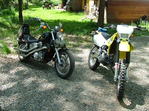 My motorcycles