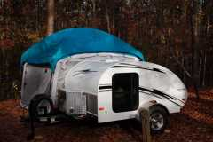 Trailer & Attached Screen Room Tent