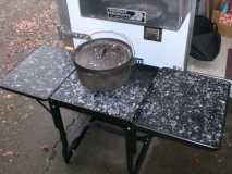 $1Metal COOKING TABLE