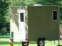 A homemade camper at Hueston Woods State Park